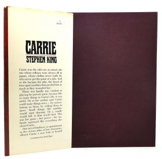 CARRIE Stated 1st Edition P6 Code