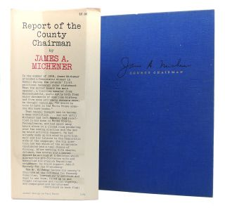 REPORT OF THE COUNTY CHAIRMAN Signed 1st