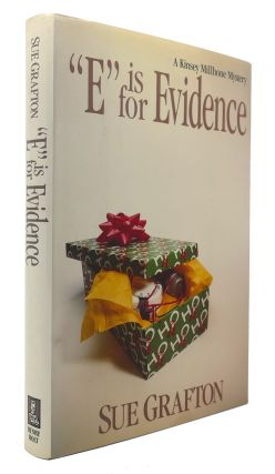 """E"" IS FOR EVIDENCE A Kinsey Millhone Mystery. Sue Grafton"