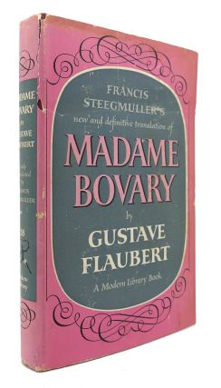 MADAME BOVARY Modern Library #28. Gustave Flaubert.