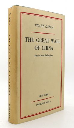 THE GREAT WALL OF CHINA. Franz Kafka