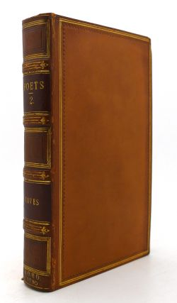 THE WORKS OF THE ENGLISH POETS VOL. 2 With Prefaces, Biographical and Critical. Samuel Johnson