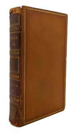 THE WORKS OF THE ENGLISH POETS VOL. 14 With Prefaces, Biographical and Critical. Samuel Johnson