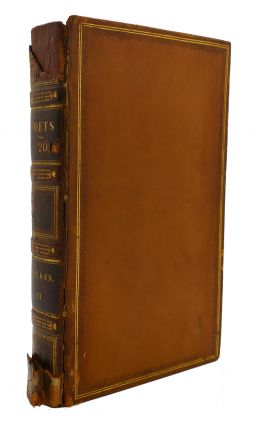 THE WORKS OF THE ENGLISH POETS VOL. 20 With Prefaces, Biographical and Critical. Samuel Johnson