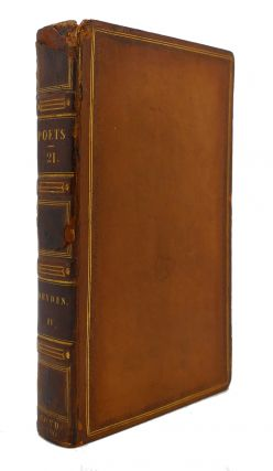THE WORKS OF THE ENGLISH POETS VOL. 21 With Prefaces, Biographical and Critical. Samuel Johnson