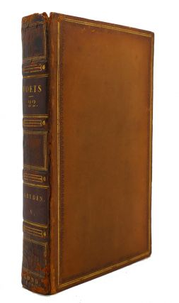 THE WORKS OF THE ENGLISH POETS VOL. 22 With Prefaces, Biographical and Critical. Samuel Johnson