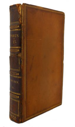 THE WORKS OF THE ENGLISH POETS VOL. 23 With Prefaces, Biographical and Critical. Samuel Johnson