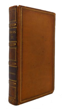 THE WORKS OF THE ENGLISH POETS VOL. 27 With Prefaces, Biographical and Critical. Samuel Johnson