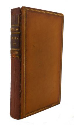 THE WORKS OF THE ENGLISH POETS VOL. 32 With Prefaces, Biographical and Critical. Samuel Johnson