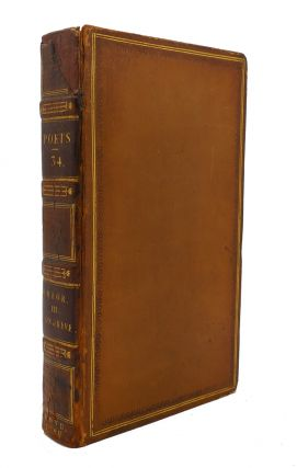 THE WORKS OF THE ENGLISH POETS VOL. 34 With Prefaces, Biographical and Critical. Samuel Johnson