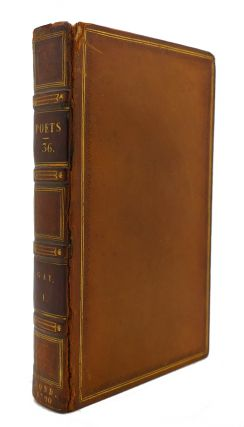 THE WORKS OF THE ENGLISH POETS VOL. 36 With Prefaces, Biographical and Critical. Samuel Johnson