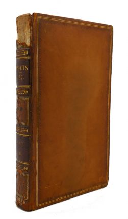 THE WORKS OF THE ENGLISH POETS VOL. 37 With Prefaces, Biographical and Critical. Samuel Johnson