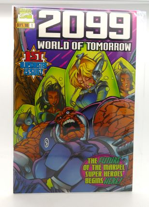 2099: WORLD OF TOMORROW VOL. 1 NO. 1 SEPTEMBER 1996