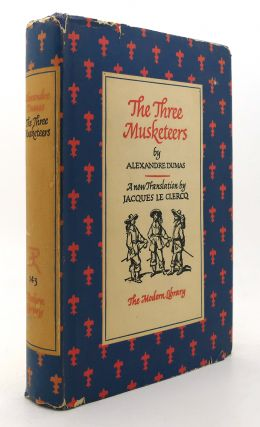 THE THREE MUSKETEERS Modern Library #143. Alexandre Dumas