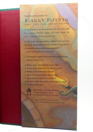 HARRY POTTER AND THE CHAMBER OF SECRETS Signed 1st