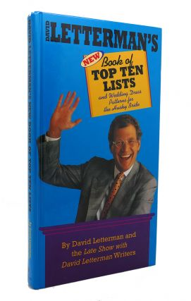 DAVID LETTERMAN'S BOOK OF TOP TEN LISTS And Wedding Dress Patterns for the Husky Bride