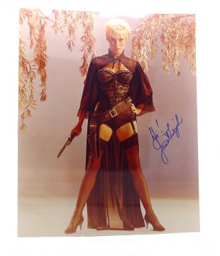 JANET LEIGH SIGNED PHOTOGRAPH Autographed