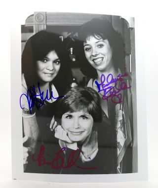 """ONE DAY AT A TIME"" VALERIE BERTINELLI, MACKENZIE PHILLIPS, BONNIE FRANKLIN SIGNED PHOTOGRAPH..."