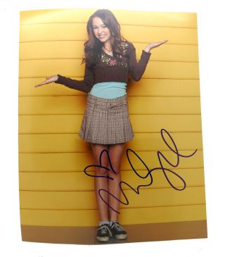 "MILEY CYRUS ""HANNAH MONTANA"" SIGNED PHOTO Autographed"