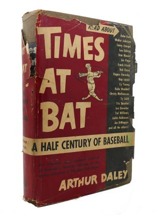 TIMES AT BAT. Arthur Daley
