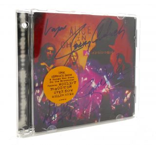 SIGNED ALICE IN CHAINS UNPLUGGED Signed