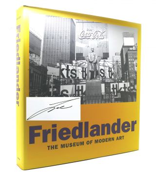 FRIEDLANDER Signed 1st
