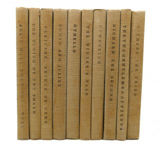 THE YALE SHAKESPEARE 40 Volumes. William Shakespeare