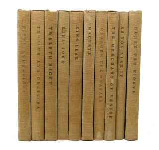 THE YALE SHAKESPEARE 40 Volumes