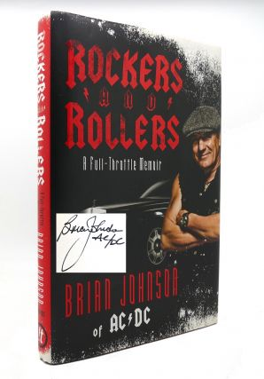 ROCKERS AND ROLLERS A Full-Throttle Memoir SIGNED 1st