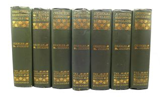 THE WORKS OF CHARLES DICKENS IN 21 VOLUMES Authentic Edition. Charles Dickens