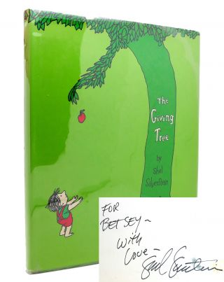 THE GIVING TREE Signed 1st. Shel Silverstein