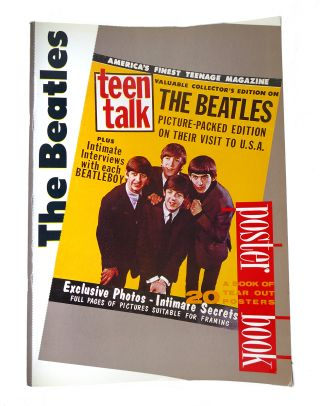 THE BEATLES POSTER BOOK. Kay Rowley John Lennon Paul McCartney