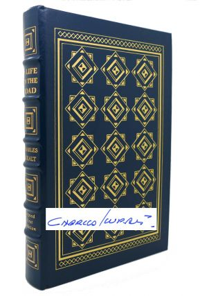 A LIFE ON THE ROAD Signed Easton Press. Charles Kuralt