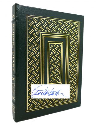BEIJING DIARY Signed Easton Press