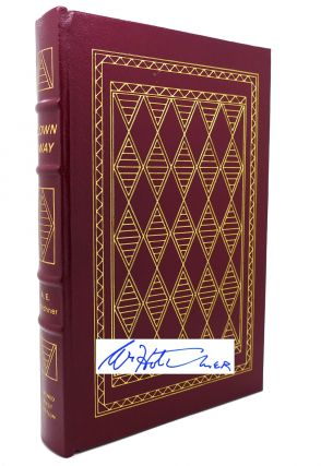BLOWN AWAY Signed Easton Press