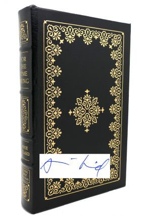 FOR THE TIME BEING Signed Easton Press. Annie Dillard