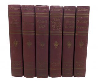 THE COMPLETE WORKS OF O. HENRY COMPLETE IN 12 VOLUMES. O. Henry