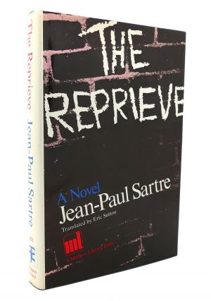 THE REPRIEVE Modern Library No 381. Jean-Paul Sartre