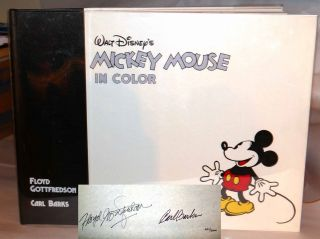 WALT DISNEY'S MICKEY MOUSE IN COLOR The Art of Floyd Gottfredson and Carl Banks