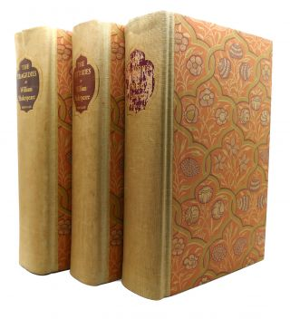 THE COMEDIES; THE TRAGEDIES; THE HISTORIES; 3 VOLUMES. William Shakespeare