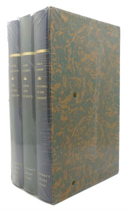 EVERYMAN'S LIBRARY FEMALE BOXED SET The House of Mirth, Pride and Prejudice, Death Comes for the...
