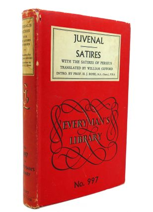 JUVENAL'S SATIRES. William Gifford
