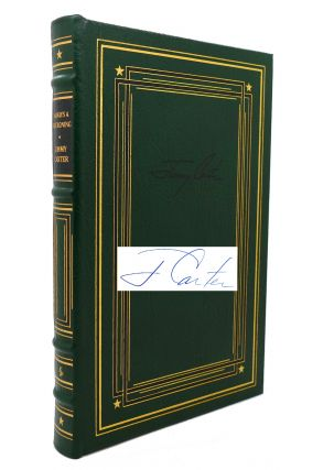 ALWAYS A RECKONING WHY NOT THE BEST? , AN OUTDOOR JOURNAL, TURNING POINT, A GOVERNMENT AS GOOD AS ITS PEOPLE, THE BLOOD OF ABRAHAM, EVERYTHING TO GAIN. Easton Press Collector's Edition 7 (Signed) Volume Set