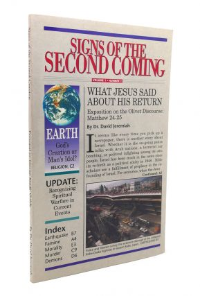SIGNS OF THE SECOND COMING. David Jeremiah