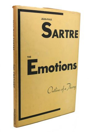 THE EMOTIONS. Jean-Paul Sartre