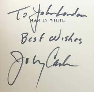 MAN IN WHITE Signed 1st