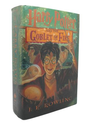 HARRY POTTER AND THE GOBLET OF FIRE. J. K. Rowling