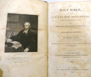 THE HOLY BIBLE Containing the Old and New Testaments in 3 VOLUMES