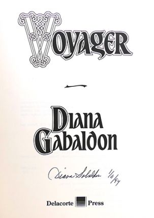 VOYAGER Signed 1st