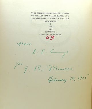 AMPERSAND Signed 1st